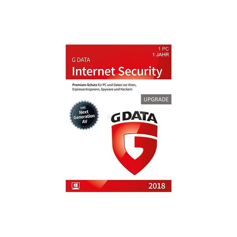 G Data Software Internet Security 1 PC Update GreenIT 1 Jahr für aktuelle Version 2018