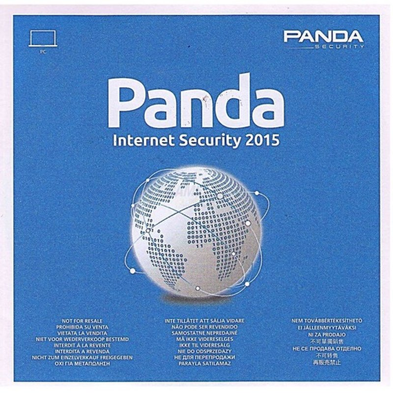 Panda Software Internet Security 2015 1 PC Voll...
