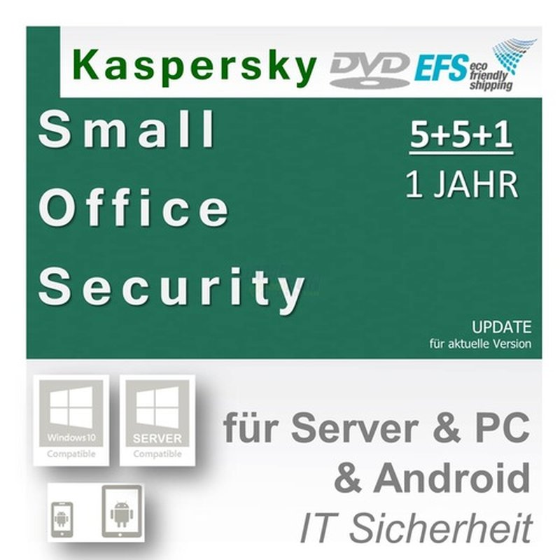 Kaspersky Small Office Security 4 inkl. 5 Mobil...