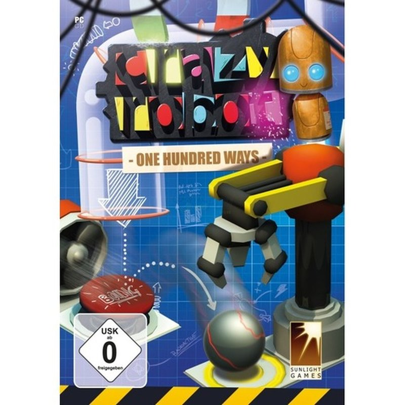 Rokapublish Crazy Robot - one hundred ways (PC)