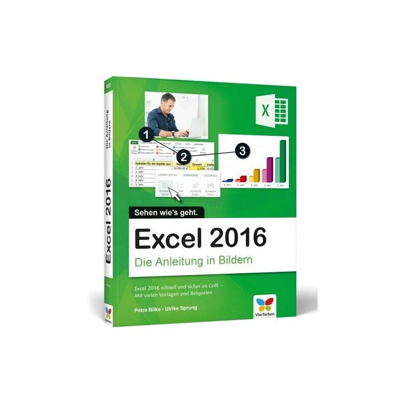 Vierfarben Verlag Excel 2016 Die Anleitung in Bildern