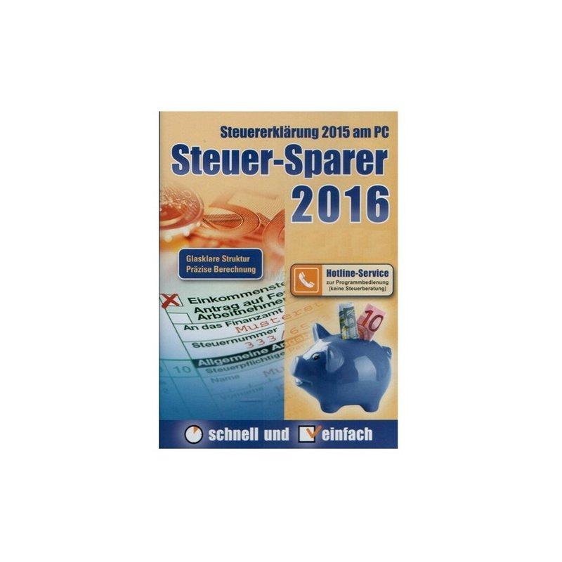Editionnova Steuer-Sparer 2016 (für Steuerjahr 2015 ...