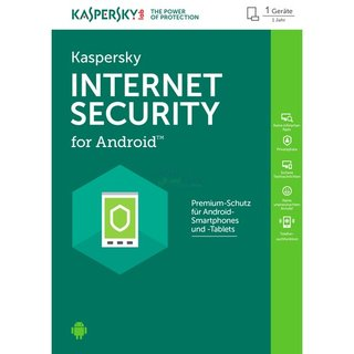 Kaspersky Internet Security for Android 1 Gerät Vollversion ESD 1 Jahr ( Download )