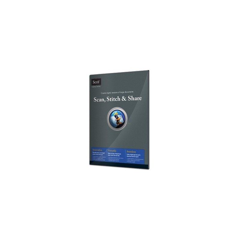 Serif Scan, Stitch & Share (EN) Vollversion ESD