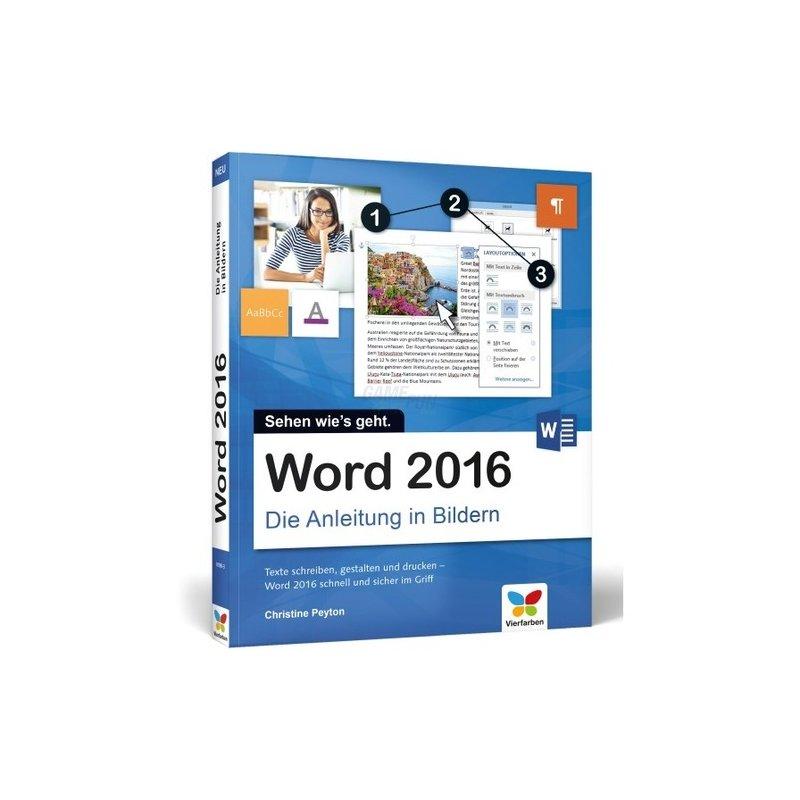 Vierfarben Verlag Word 2016 Die Anleitung in Bildern