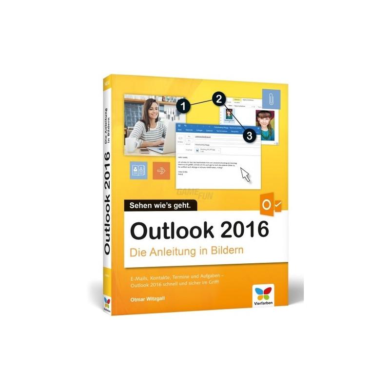 Vierfarben Verlag Outlook 2016 Die Anleitung in Bildern