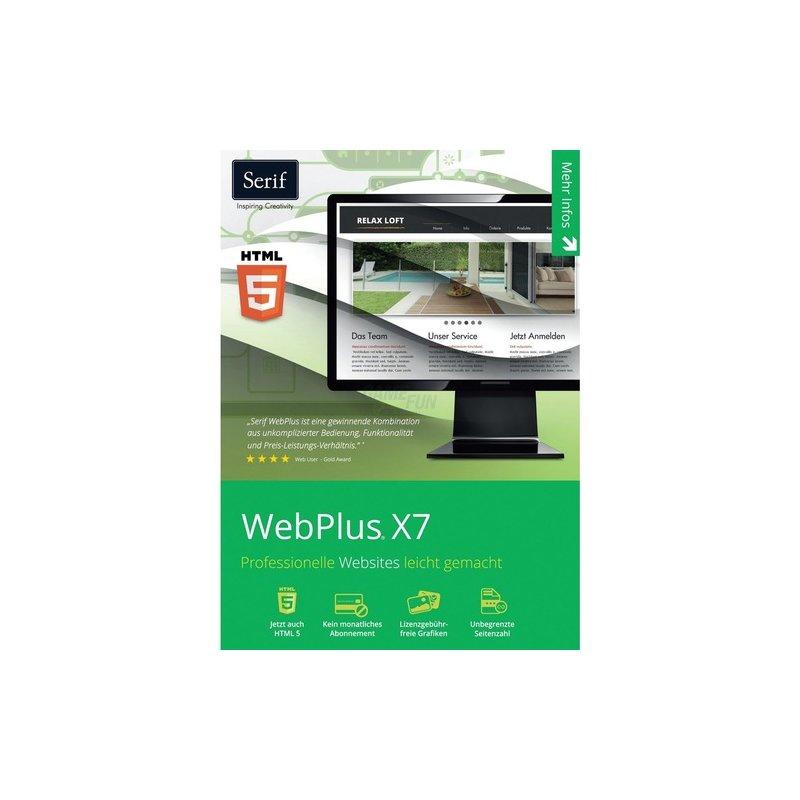 Serif WebPlus X7 1 PC Vollversion ESD