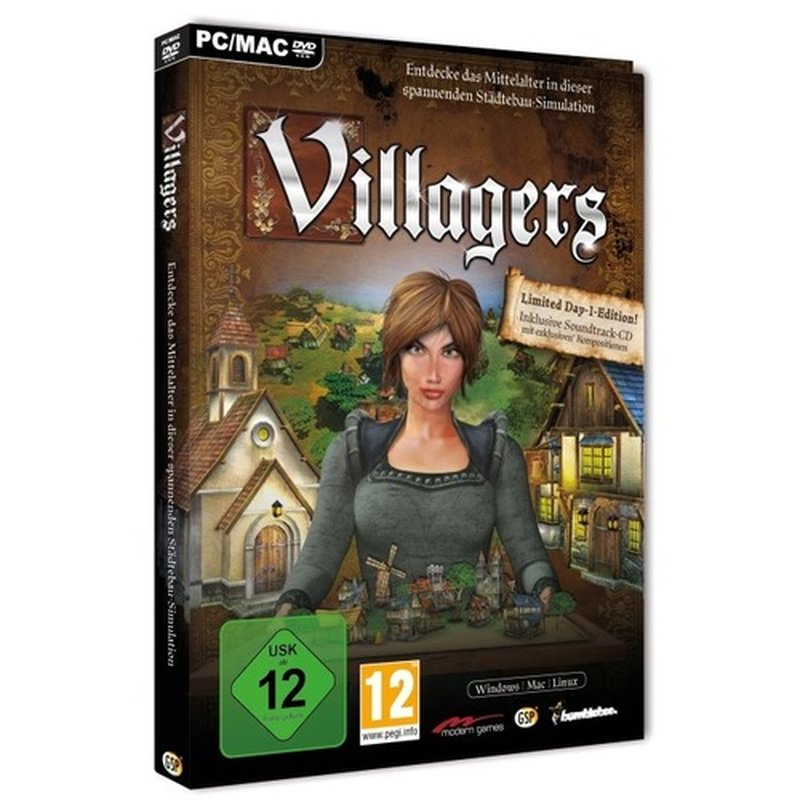 Bumblebee Games Villagers Limited Day-One-Edition (PC)