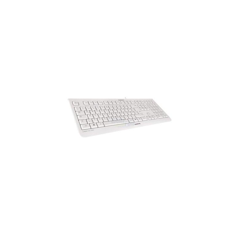 Cherry KC 1000 Keyboard JK-0800DE-0 Retail weiß-grau deutsch USB