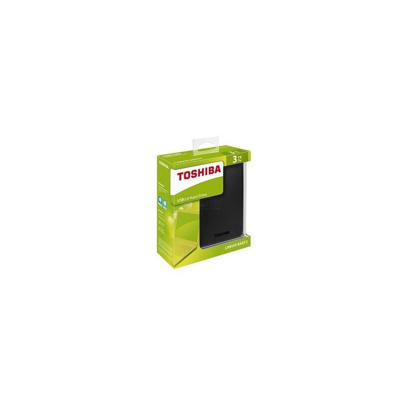 Toshiba Canvio Basics 3TB USB 3.0 Retail