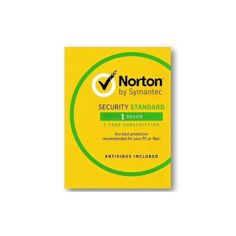 Symantec Norton Security Standard 3.0 1 Gerät Vollversion OEM 1 Jahr