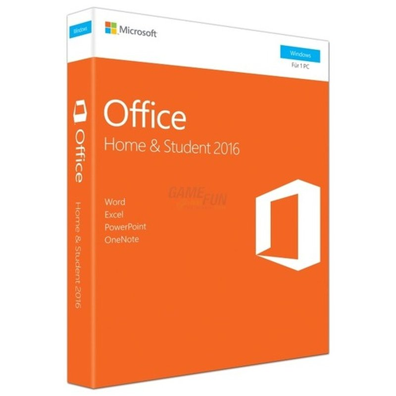 Microsoft Office Home and Student 2016 (DE) Vollversion PKC (Code in a Box)