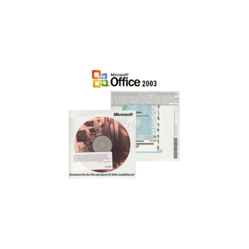Microsoft Office 2003 Small Business Edition OSB deutsch inkl. SP2 1 PC Vollversion Systembuilder