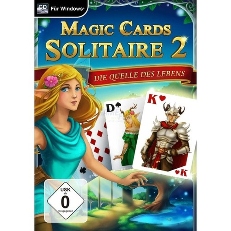 Magnussoft Magic Cards Solitaire 2 - Die Quelle des Lebens (PC)