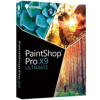 Corel PaintShop Pro X9 Ultimate Vollversion MiniBox