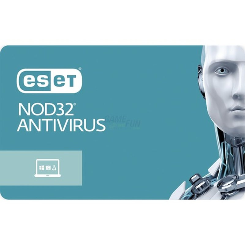 ESET NOD32 Antivirus 1 Computer Vollversion Lizenz 1 Jahr für Version 10 (2017)