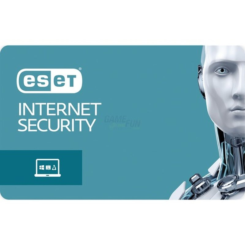 ESET Internet Security 1 Computer Vollversion Lizenz 1 Jahr für Version 11 (2018)