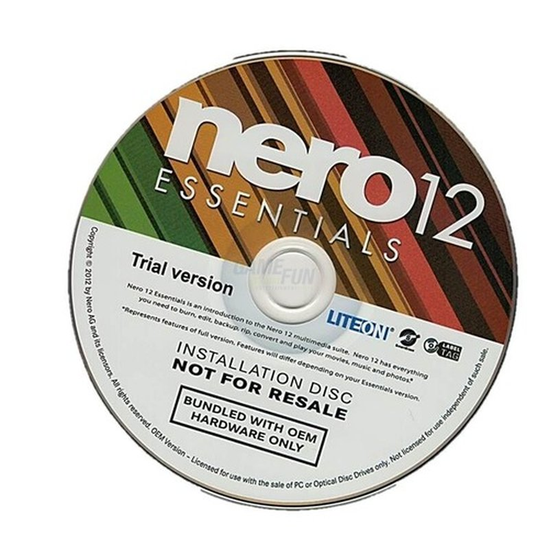 Nero AG Nero 12 Essential Suite Multilingual 1 PC OEM