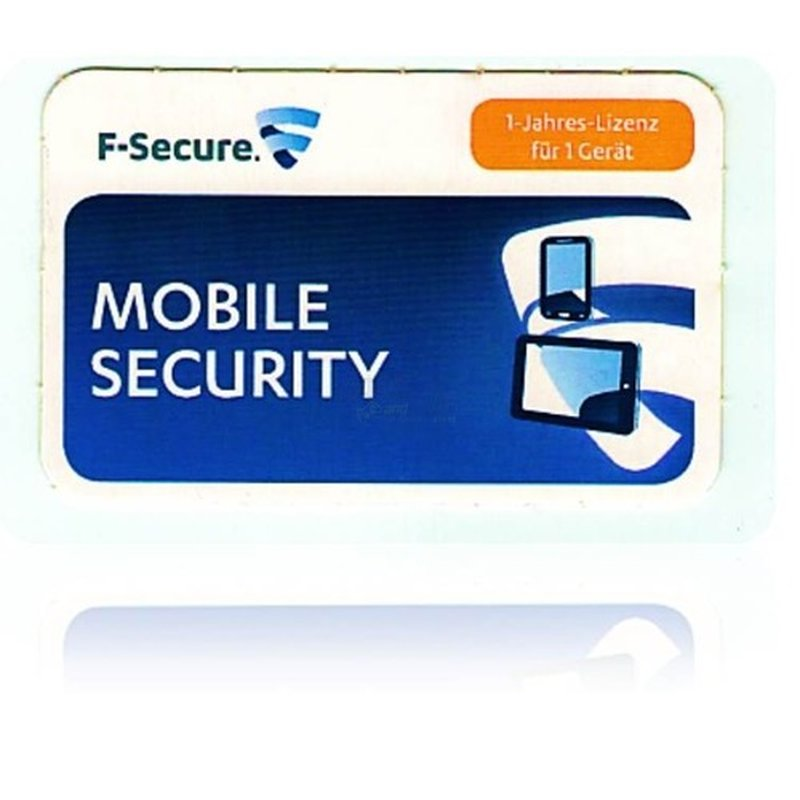 F-Secure Mobile Internet Security 1 Benutzer Vollversion EFS PKC 1 Jahr