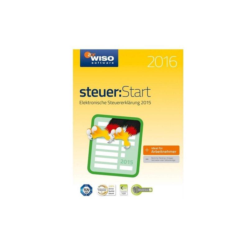 Buhl WISO Steuer Start 2016 (für Steuerjahr 2015) 1 PC Vollversion ESD