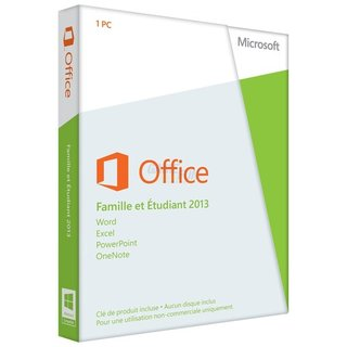 Microsoft Office Home and Student 2013 (FR) 1 PC Vollversion PKC