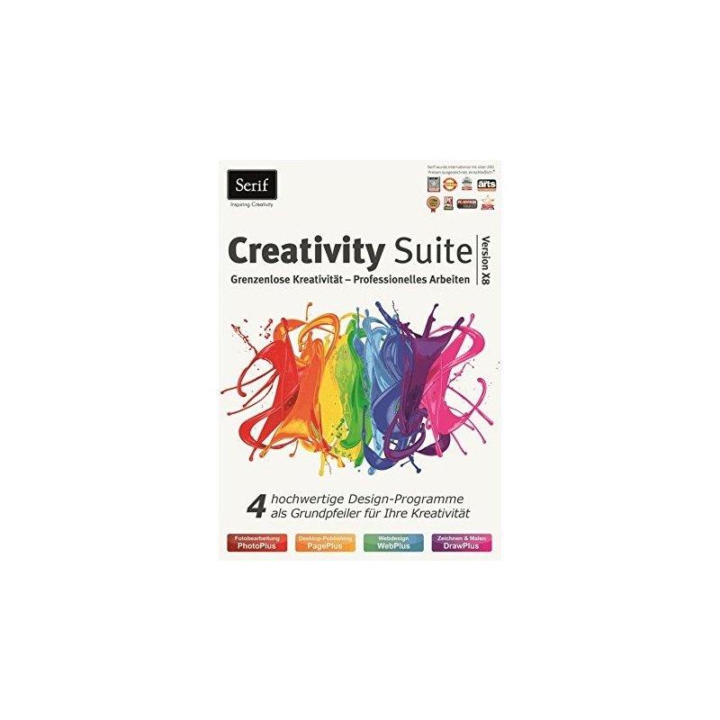 Serif Creativity Suite X8 inkl PhotoPlus DrawPlus PagePlus WebPlus 1 PC Vollversion ESD