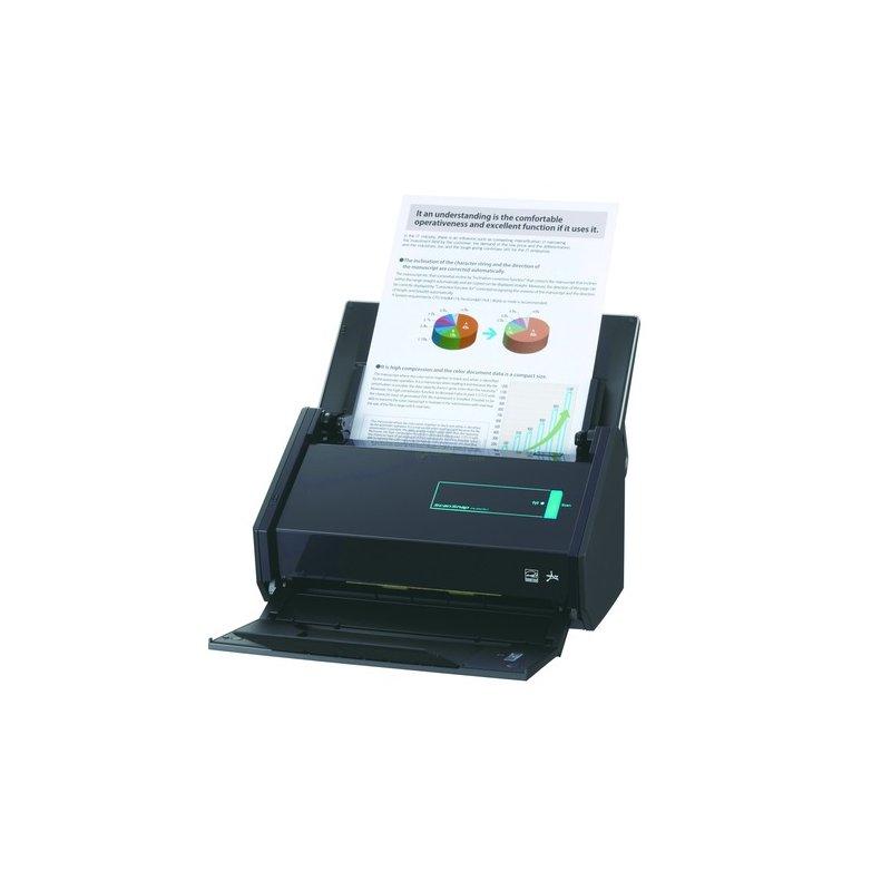 Fujitsu ScanSnap iX500 Dokumentenscanner WLAN inklusive Nuance PowerPDF
