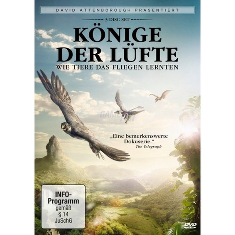 KochMedia David Attenborough: Könige der Lüfte (3 DVDs)