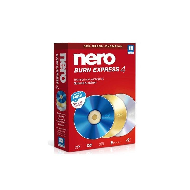 Nero AG Nero Burn Express 4 Vollversion MiniBox