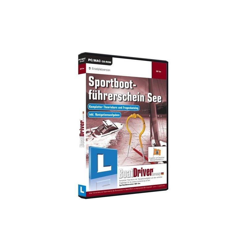 BoatDriver GmbH Sportbootführerschein See Vollversion DVD-Box