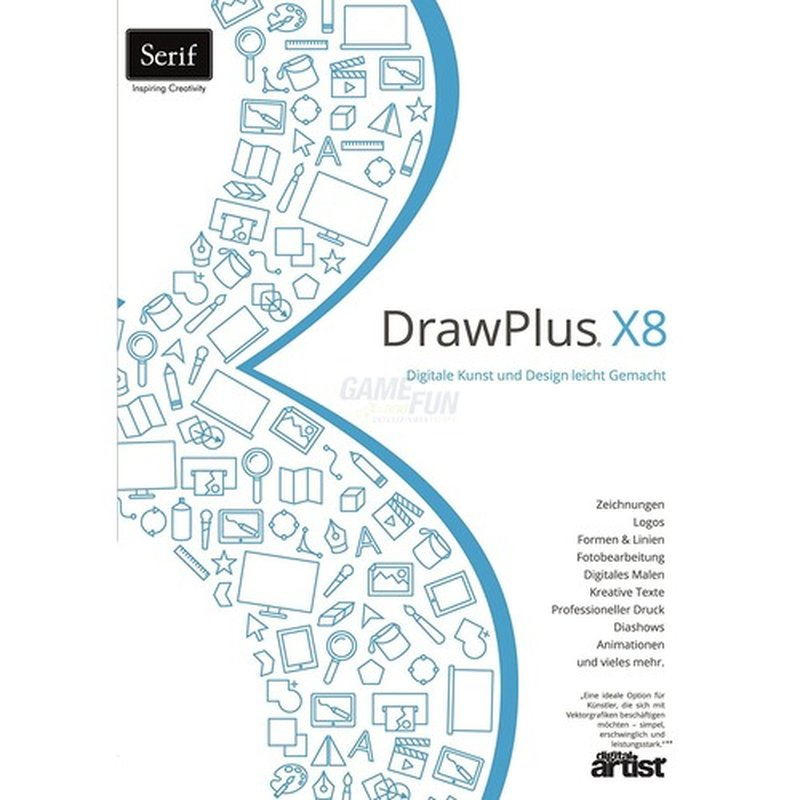 Serif DrawPlus X8 1 PC Vollversion ESD