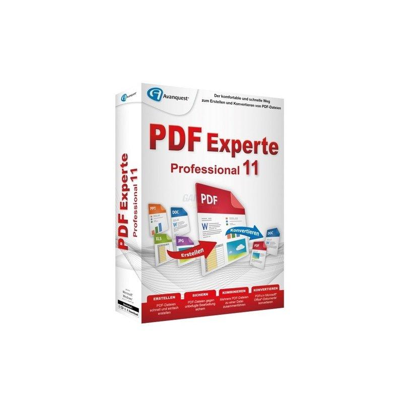 Avanquest PDF Experte 11 Professional Vollversion MiniBox