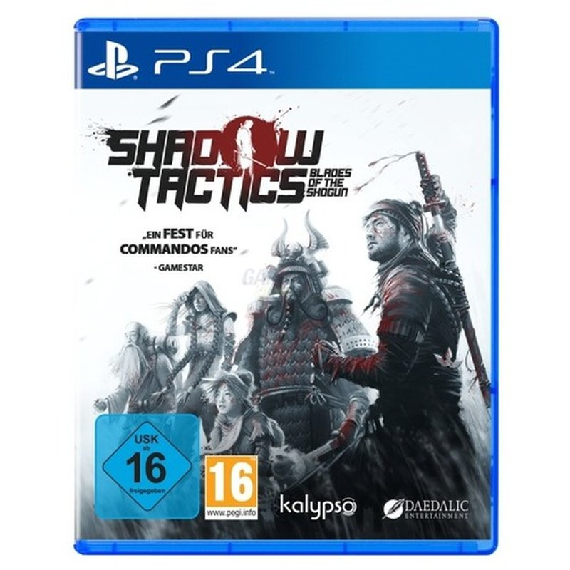 Kalypso Shadow Tactics: Blades of the Shogun (PS4) Englisch, Japanis