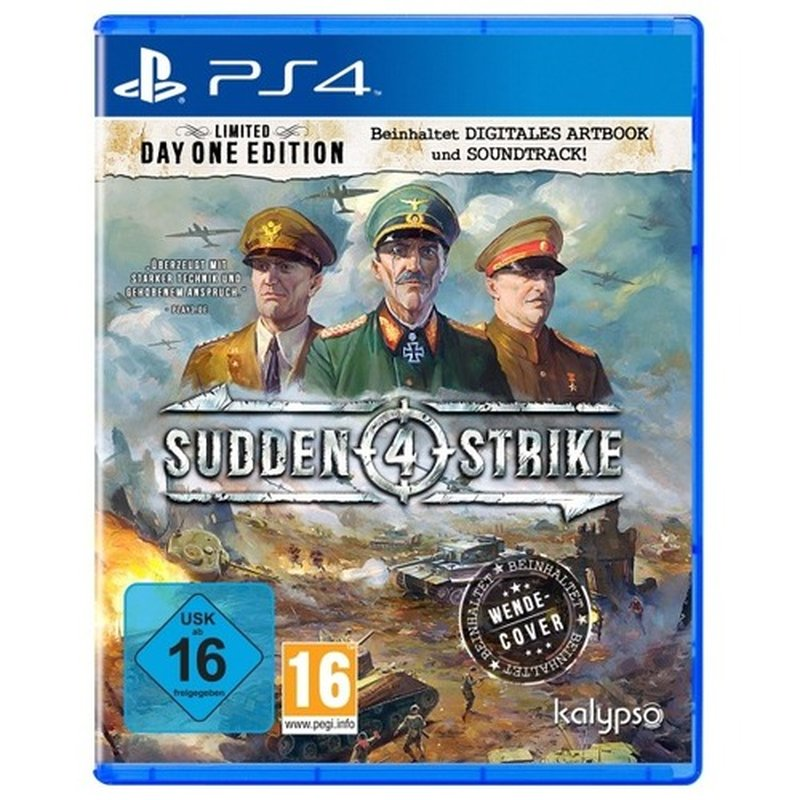 Kalypso Sudden Strike 4 (PS4)