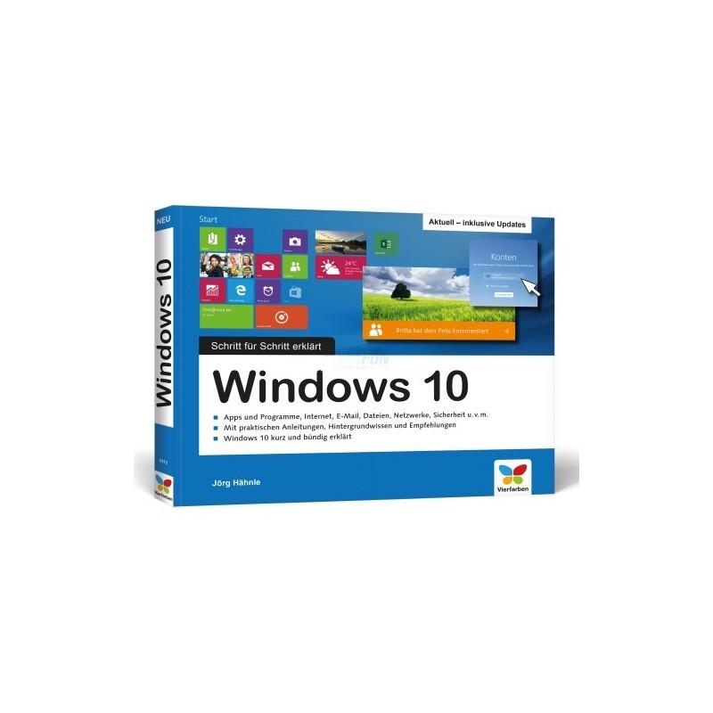 Vierfarben Verlag Windows 10-Schritt für Schritt erklärt