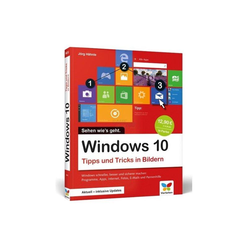 Vierfarben Verlag Windows 10 Tipps und Tricks in Bildern