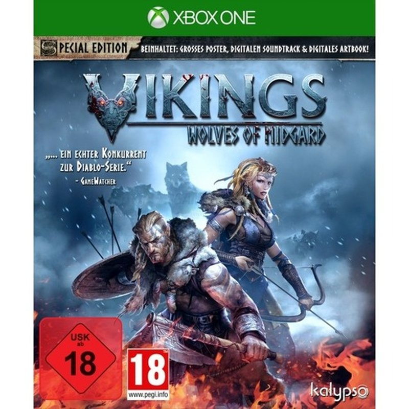 Kalypso Vikings - Wolves of Midgard (XONE)