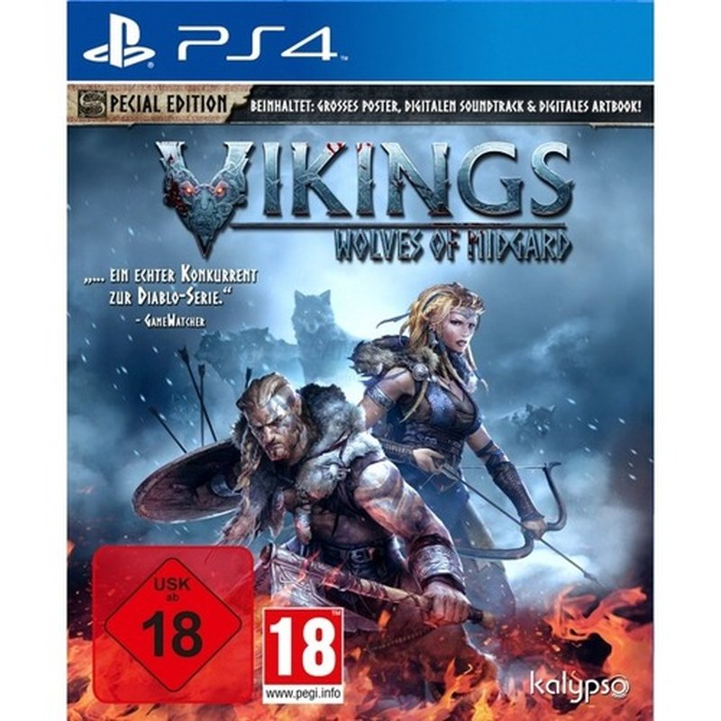 Kalypso Vikings - Wolves of Midgard (PS4)