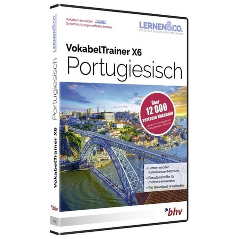 BHV VokabelTrainer X6 Portugiesisch Vollversion...