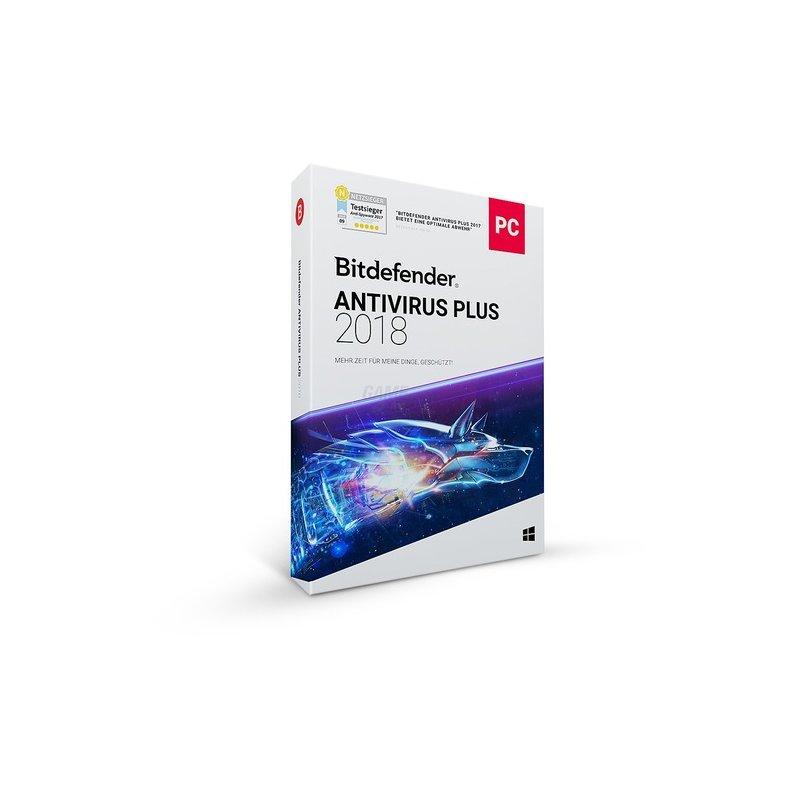 Bitdefender Antivirus Plus 10 PCs Vollversion E...
