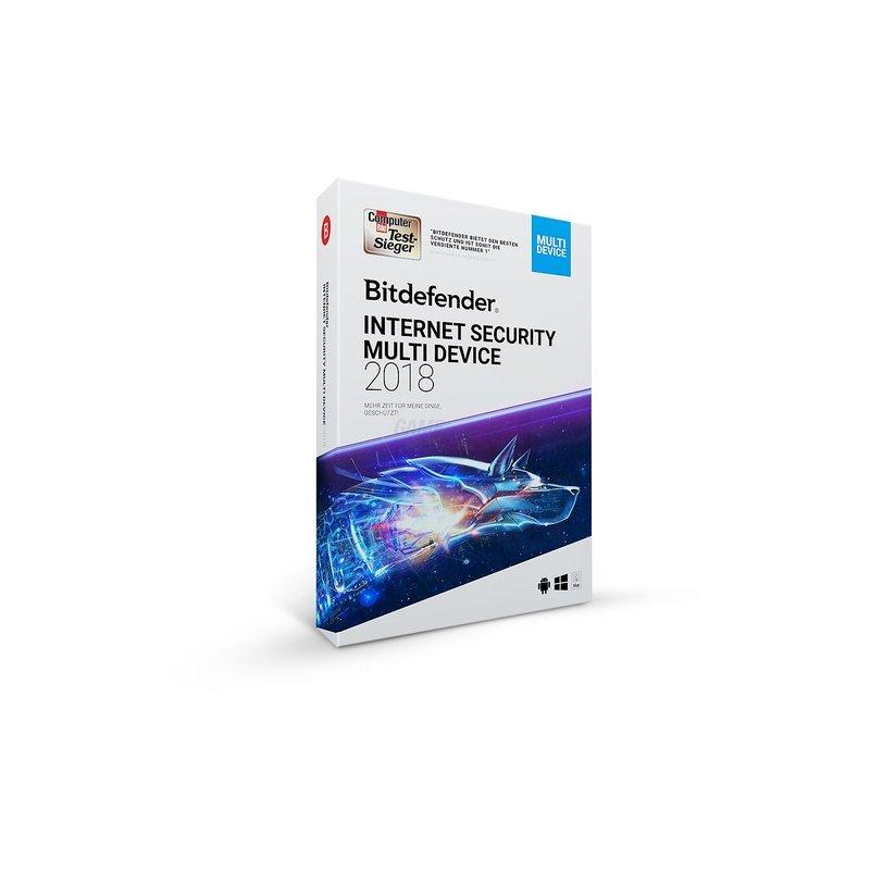 Bitdefender Internet Security Multi Device 1 Ge...