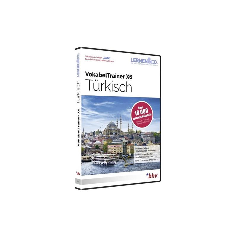 BHV VokabelTrainer X6 Türkisch Vollversion DVD-Box
