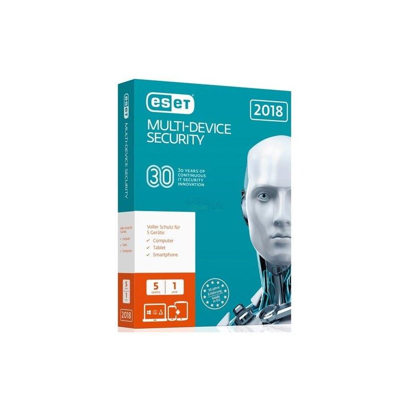 ESET Multi-Device Security 2018 Edition 5 Gerät...