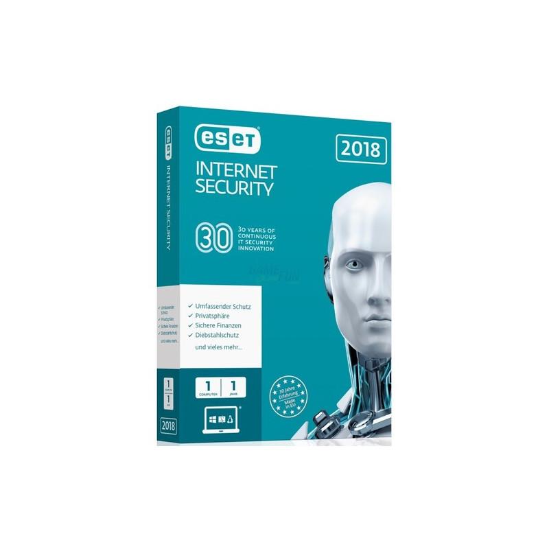 ESET Internet Security 2018 Edition 1 Computer ...