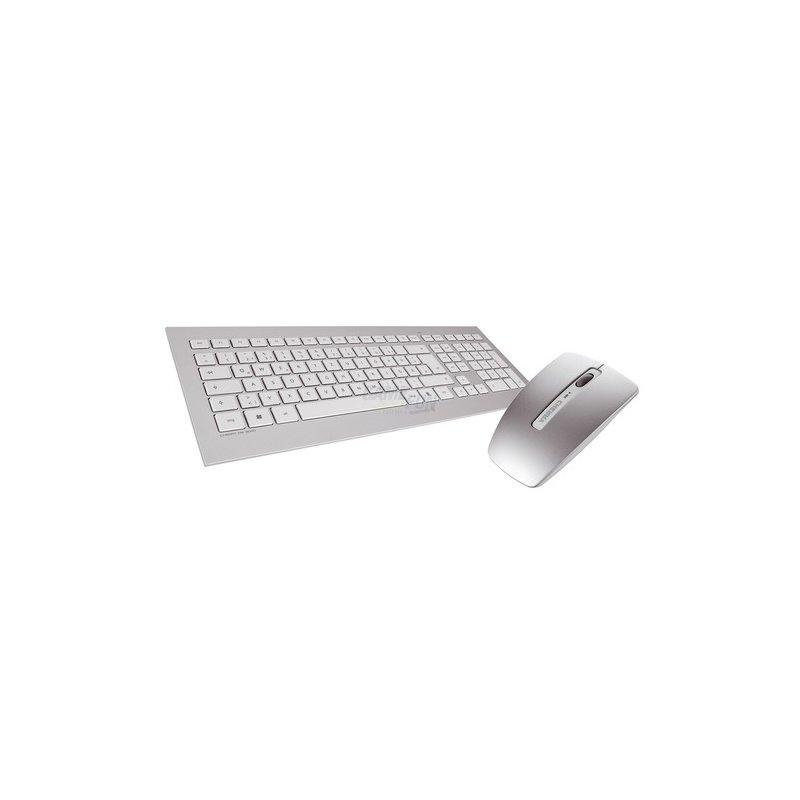 Cherry DW 8000 Wireless Desktop-Set Retail weiß deutsch USB