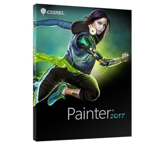 Corel Painter 2017 ML Vollversion DVD-Box