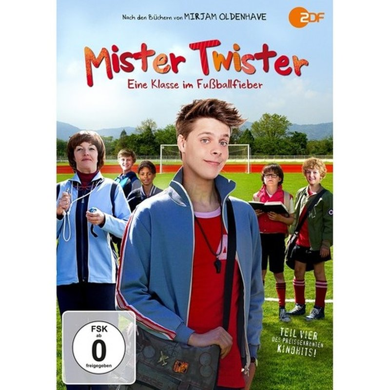 Spirit Media Mister Twister - Eine Klasse im Fußballfieber (DVD)