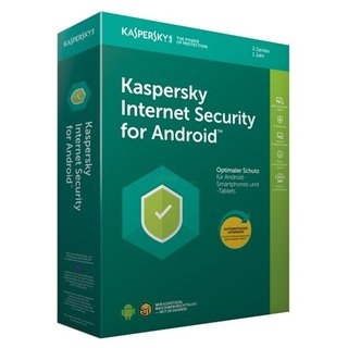 Kaspersky Internet Security for Android 2 Geräte Vollversion MiniBox 1 Jahr