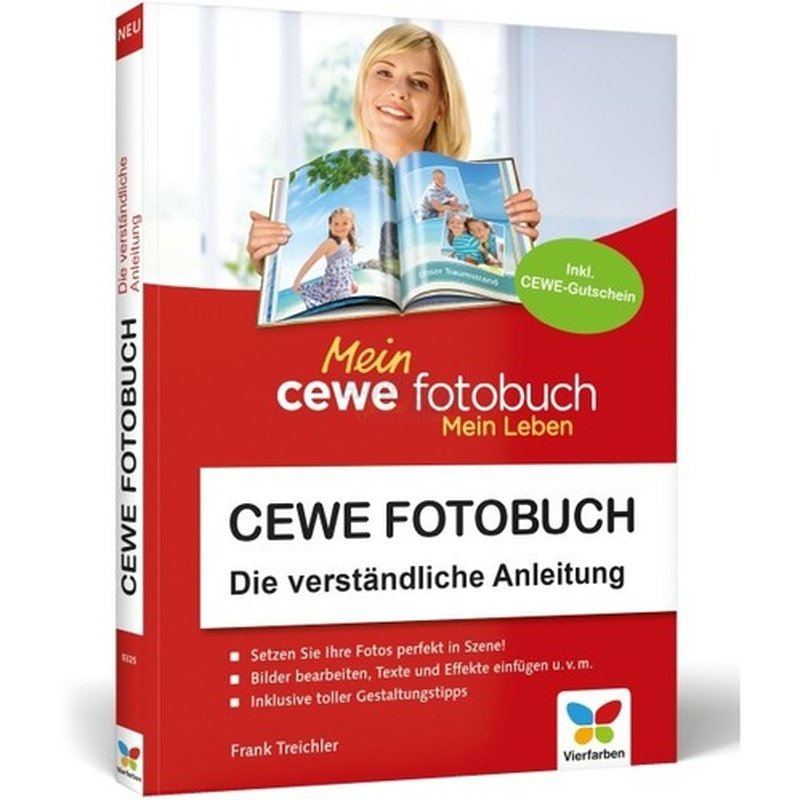 Vierfarben Verlag CEWE Fotobuch Die verständliche Anleitung