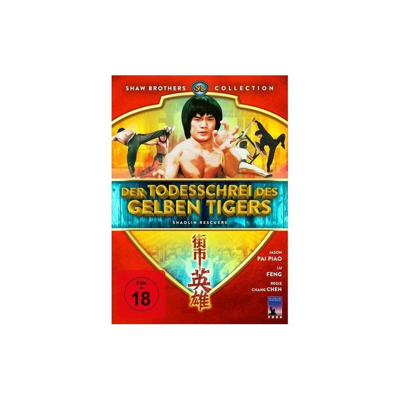 Black Hill Pictures Der Todesschrei des gelben Tigers - Shaolin Rescuers (DVD)